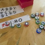 Milk Cap Letters & Sesame Street Nameplates