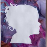 Painting a Negative Space Silhouette