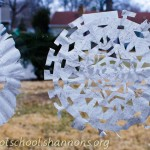 Cutting Snowflakes from Coffee Filters