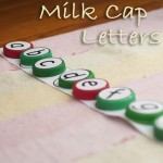 Lower Case Milk Cap Letters (& Intro to Alphabetical Order)