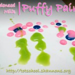 Condensed Milk Puffy Paint