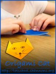 How to fold an Origami Cat