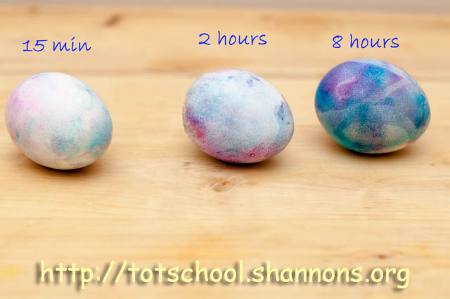 Edible Marbled Easter Eggs Shannon S Tot School