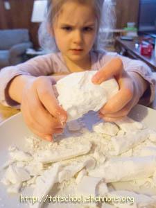 """Exploding Ivory /  Bonus: """"How to Make PlaySnot® – A New Sensory Material"""" ;)"""