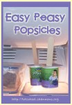 Easy Peasy Popsicles (@ Shannon's Tot School)