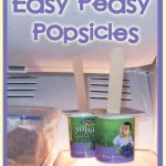 Cooking with Kids: Easy-Peasy Popsicles