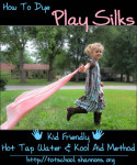 Kid Friendly Play Silk Recipe (Shannon's Tot School)