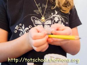Washi Tape Pencils (@Shannon's Tot School)