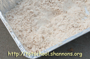 Cloud Dough (Shannon's Tot School)