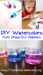 Upcycle Dried Out Markers into Watercolors
