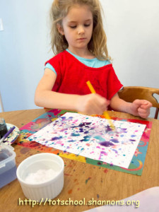 Salted Watercolors (Shannon's Tot School)